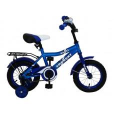 Детский велосипед TORRENT Angel (добавочные колёса,1скорость, колеса 12д, рама сталь) 12  / 9,5  / Голубой