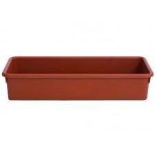 Ящик для растений универсальный 465*200*95 коричневый 4015