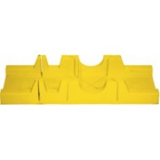 Стусло пластиковое 300х65мм без пилы желтое (60шт/уп)