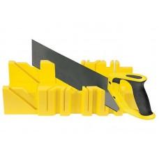 Набор Стусло Миди желтое + ножовка 350мм двухкомпонентная ручка (30шт/уп)