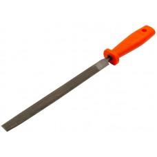 Напильник 200мм полукруглый пластиковая ручка (12/120шт/уп)