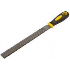 Рашпиль, прорезиненная ручка 200мм, плоский (12/144шт/уп)