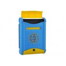 Ящик почтовый Стандарт пластиковый с пластиковой защелкой и накладкой