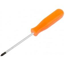 Отвертка Эконом 4х75мм PH1 пластиковая ручка (12/600шт/уп)