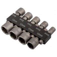 Набор усиленных головок CrV 9 шт. ( 5 - 13мм.) (10/100шт/уп)