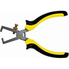 Клещи д/снятия изоляции Стайл 150мм черно-желтые ручки (6/120шт/уп)