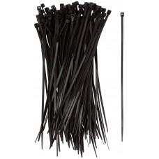 Хомуты нейлоновые черные 100 шт 150x2,5мм