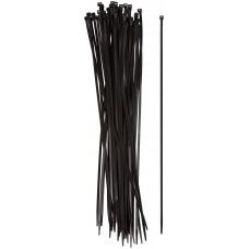 Хомуты нейлоновые черные 50 шт 400x4,8мм