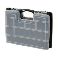 Ящик для крепежа 12  29,5х22х7,6см органайзер 2-х сторонний (20шт/уп)