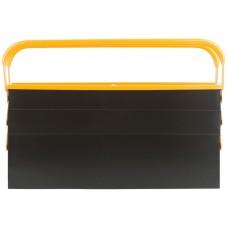 Ящик для инструмента металлический с 4-мя раздвижными отделениями, 420х200х200мм (4шт/уп)