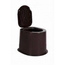Дачный туалет коричневый/черный/серый 6604