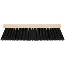 Щетка для пола деревянная, прямоугольная, 4-х рядная, 265 мм