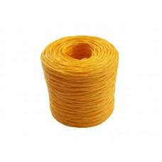 Шпагат полипропиленовый 1000 текс 50м желтый (100)