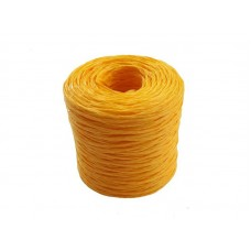 Шпагат полипропиленовый 1000 текс 100м желтый