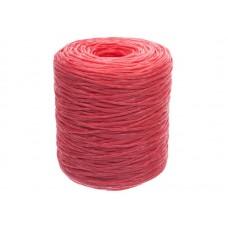 Шпагат полипропиленовый 1000 текс 100м красный