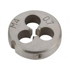 Плашка метрическая 4х0,7мм легированная сталь (375/750шт/уп)