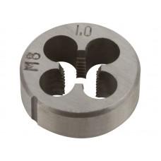 Плашка метрическая 8х1,0мм легированная сталь (120/240шт/уп)