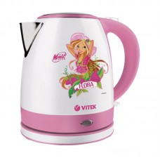 Чайник Winx WX-1001 FL Flora(2200Вт.1.2л,диск.пласт.)