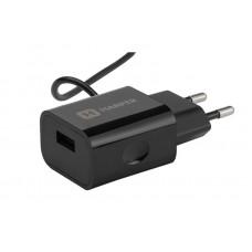 Сетевое зарядное устройство HARPER WCH-5115 BLACK lght cbl