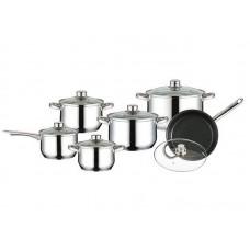Посуда Набор посуды  Mercury , MC - 6009 (2) 12 предметов 4,9/2,8/1,9/1,3/1,9/1,9 л (-)