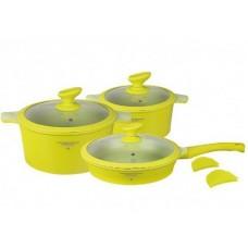 Посуда Набор посуды с покрытием под мрамор  MercuryHaus , MC - 6363 (2) 10 предметов 7,3/2,7/2,6 л (-)