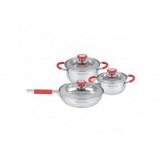Посуда Набор посуды  MercuryHaus , MC - 7025 (4) 6 предметов 2,6/2,0/1,4 л  24/18/16 см (-)