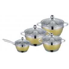Посуда Набор посуды  MercuryHaus , MC - 7069 (2) 8 предметов 4,9/2,9/2,1/1,5 л  24/20/18/16 см (-)