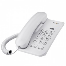 Проводные телефоны teXet TX-212 светло-серый