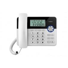Проводные телефоны teXet TX-259 чёрный/серебристый