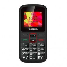 teXet TM-B217 черный-красный Мобильный телефон