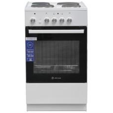 Электрическая плита De Luxe 5004.18э белый