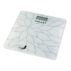 Весы напольные Galaxy GL4807, белый/рисунок
