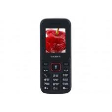 teXet TM-124 черный-красный Мобильный телефон