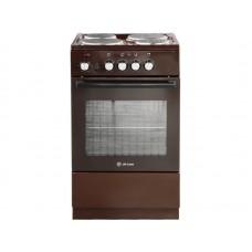 Электрическая плита De Luxe 5004.18э 014 коричневый