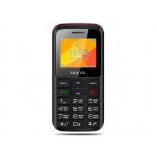 teXet TM-B323 черный-красный Мобильный телефон